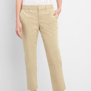 Gap Slim City Crop Pants Size: 8
